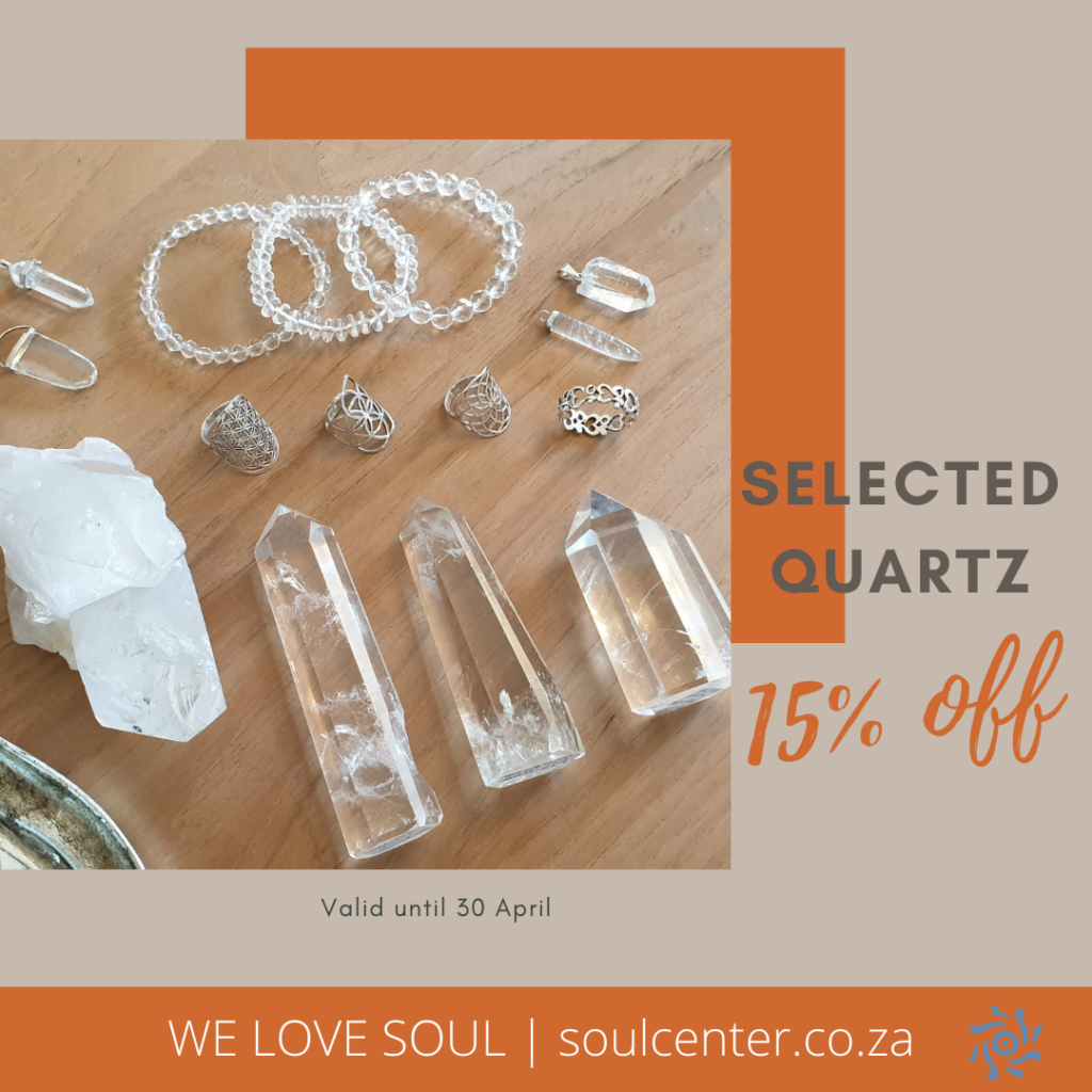 clear crystal quartz is our crystal for the month of april - receive 15% off of selected quartz