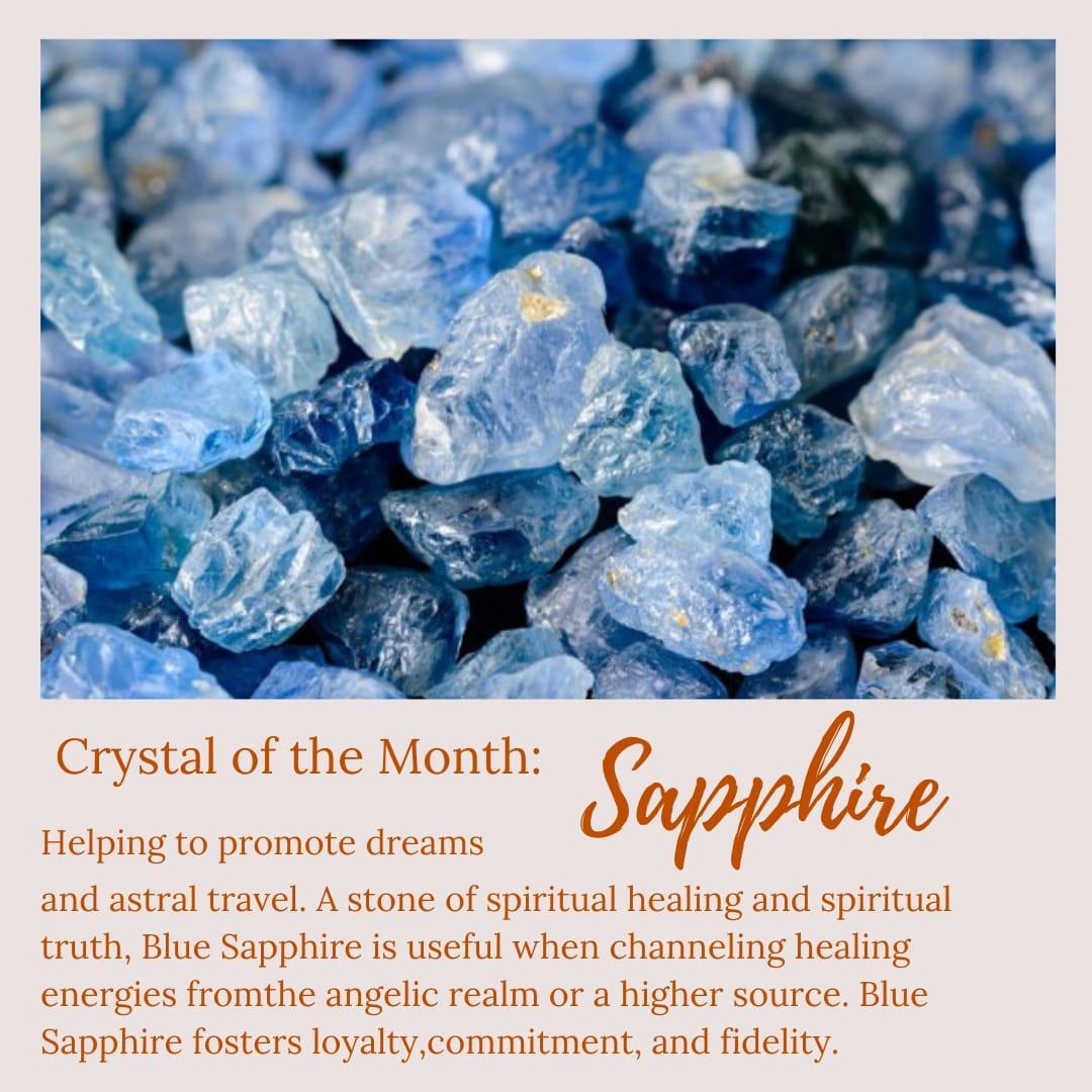 Blue Sapphire Poster
