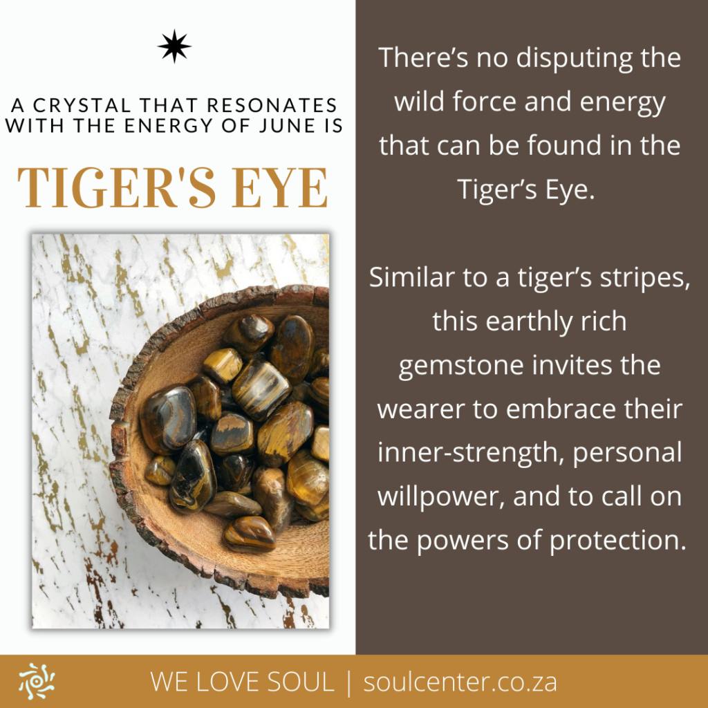 Tiger's Eye is the Stone of June | soulcenter.co.za