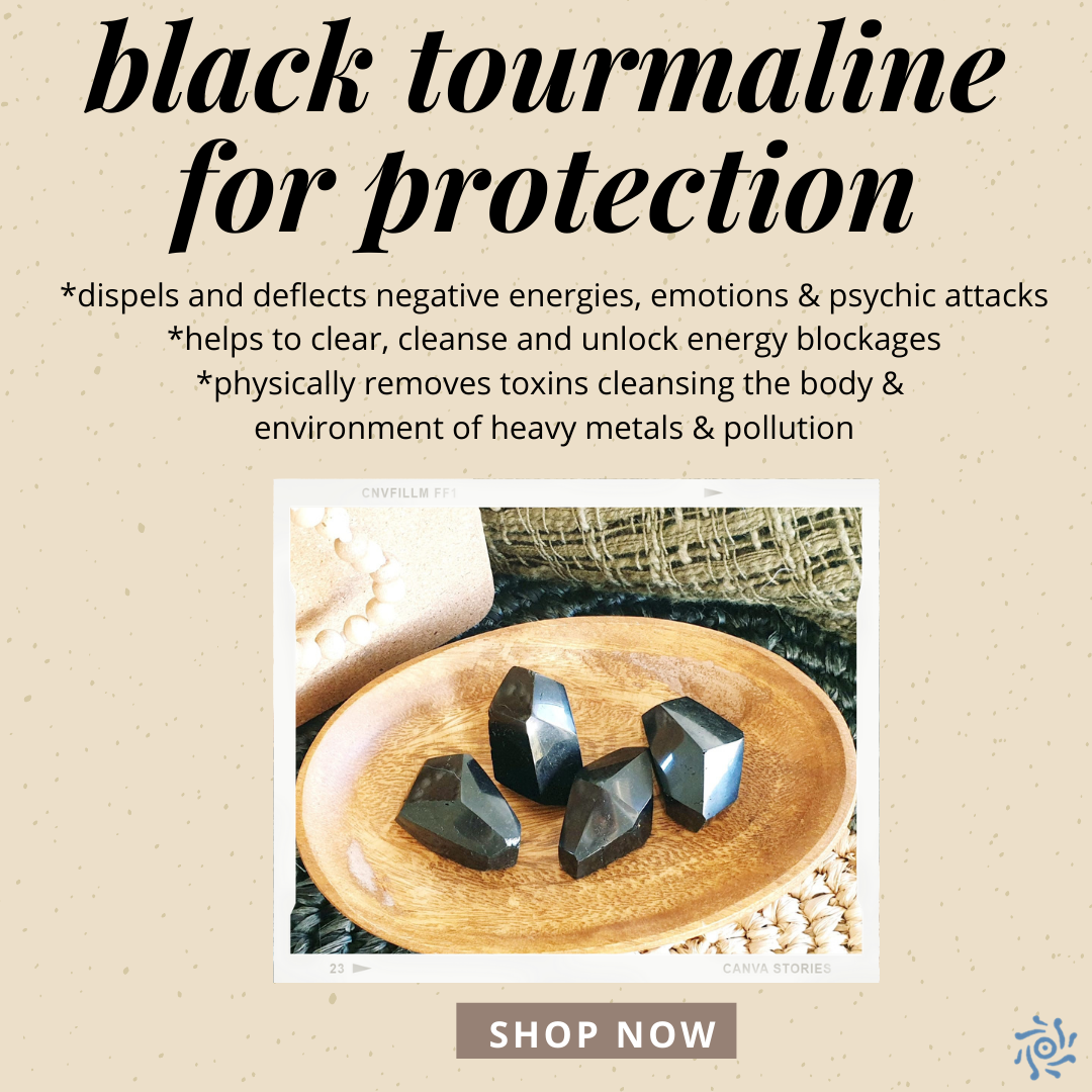black tourmaline for protection